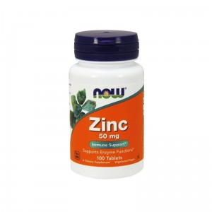 ZINC CYNK GLUKONIAN 100 VEGE TABLETEK - NOW FOODS
