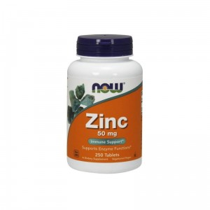 ZINC CYNK GLUKONIAN 250 VEGE TABLETEK - NOW FOODS