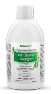 MULTICOMPLEX + ADAPTOGENY W PŁYNIE 500 ml - PHARMOVIT